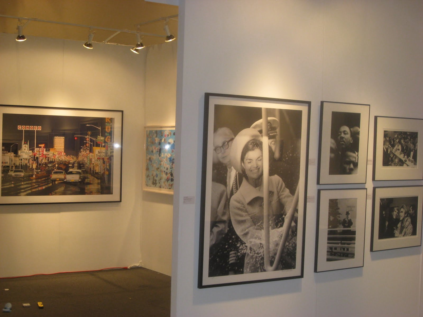 Monroe Gallery Is Featuring A Large Format Print By Bill Eppridge Of Jackie Kennedy Christens The Lafayette Groton CT 1962 At Art Santa Fe