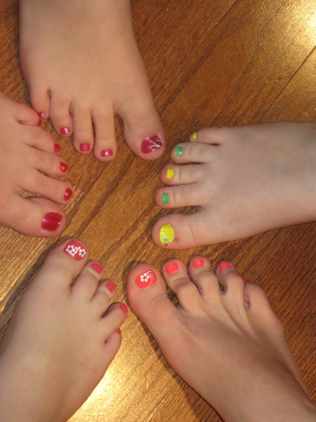 Teen Pedicure Stock Image Image Of Brunette Makeup: Stephtmomof3: First Pedicure