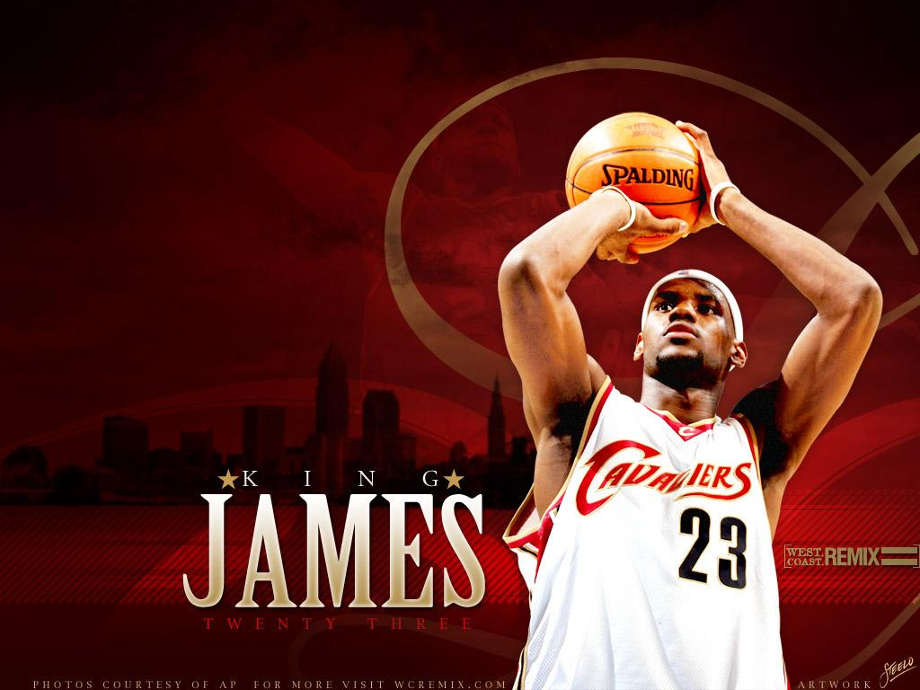 Top NBA Wallpapers: LeBron James Dunk Wallpapers