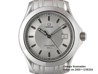 9b46a689e4f7 Omega Watch Price Guide  2009 Omega Watch Price Guide