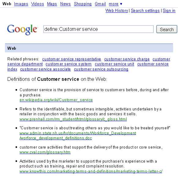 Business of Service The Art Of Customer Service