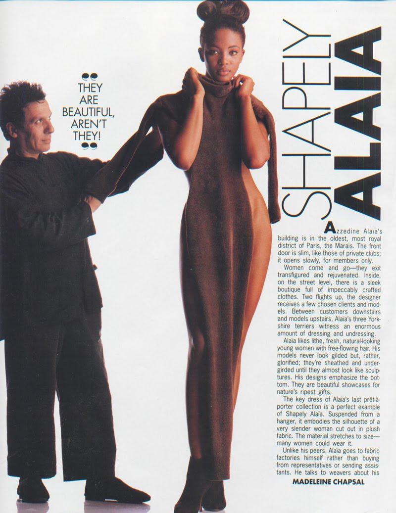 Naomi Campbell 2017 The Fashion Awards   Fashion, Alaia ...  Naomi Campbell Alaia Dress