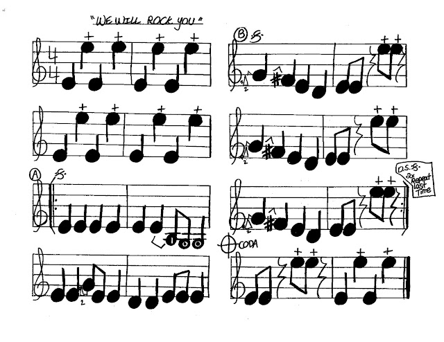 Miss Jacobson's Music: VIOLIN BEGINNING CLASS SONGS #6: NOTE