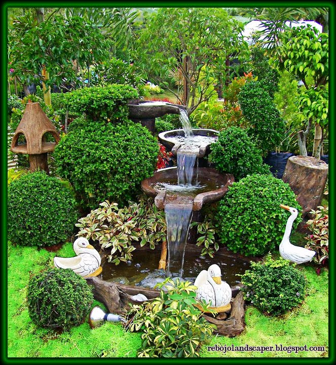 Quiz What Is Your Garden Style: Line Landscape: Topic Grotto Landscaping Designs Philippines