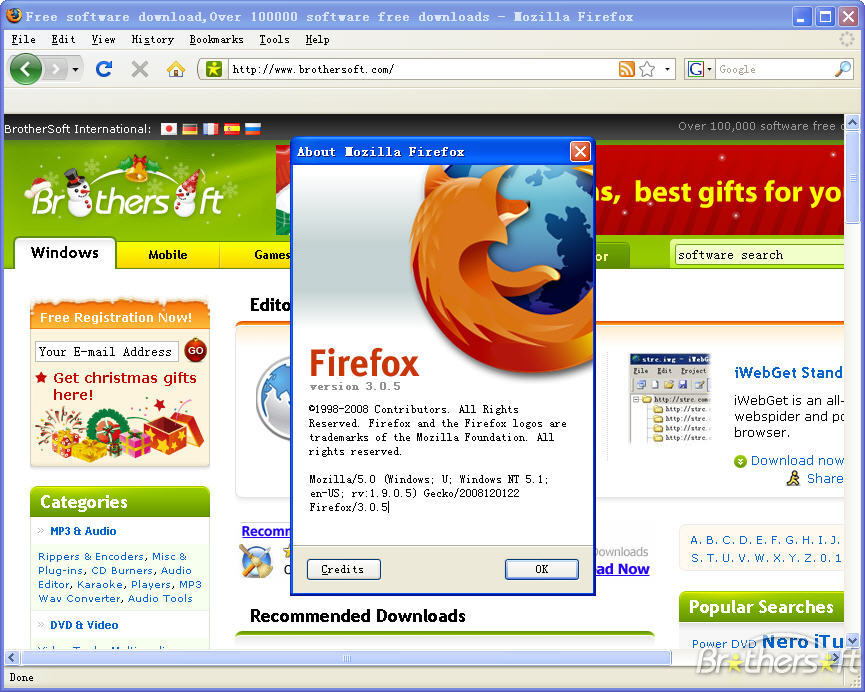 Download: Mozilla Firefox 3.6.13