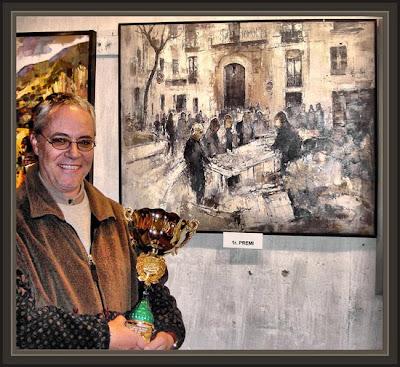 Ernest Descals,  uno de los artistas de más calidad Plástica de España