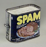 Envase original de Spam