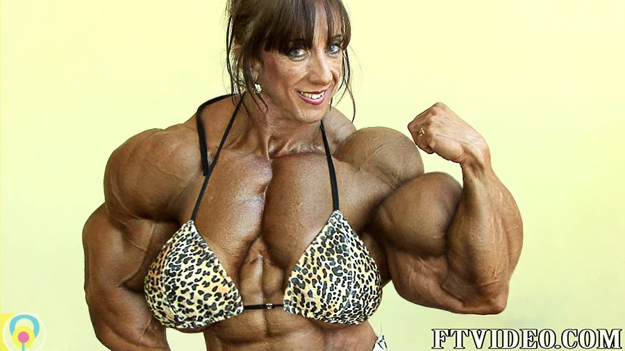 female bodybuilder morph