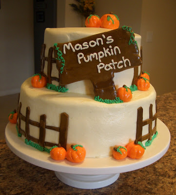 Andreas Cakes Pumpkin Patch Birthday