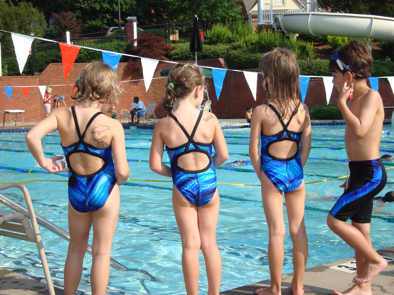 8 lane swim meet scoring swimmers