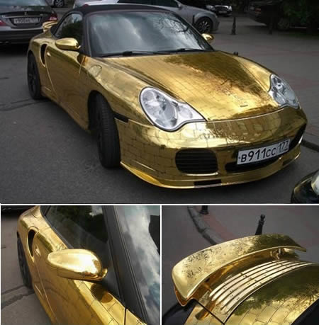 20 Unusual Stuff Made Out Of Gold Zinecrazy