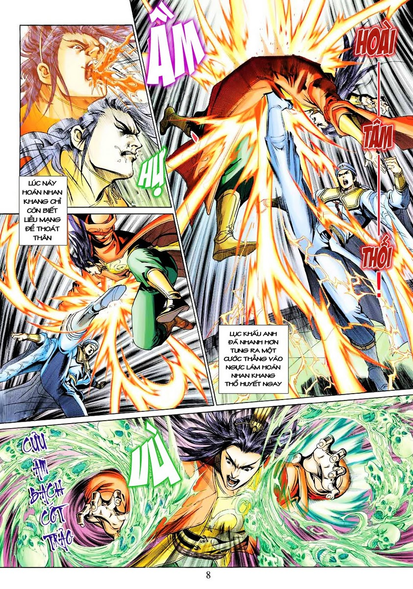 Anh Hùng Xạ Điêu anh hùng xạ đêu chap 28 trang 8