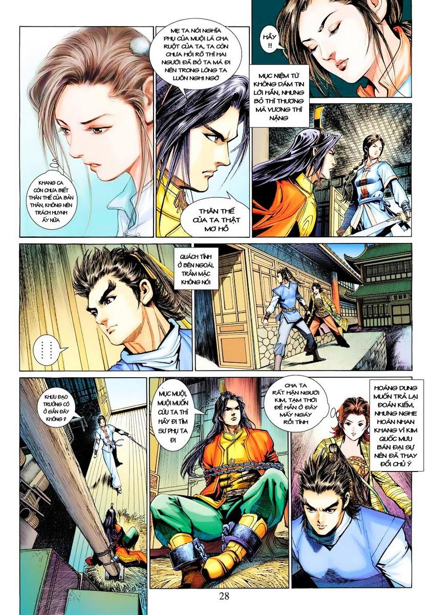 Anh Hùng Xạ Điêu anh hùng xạ đêu chap 28 trang 28