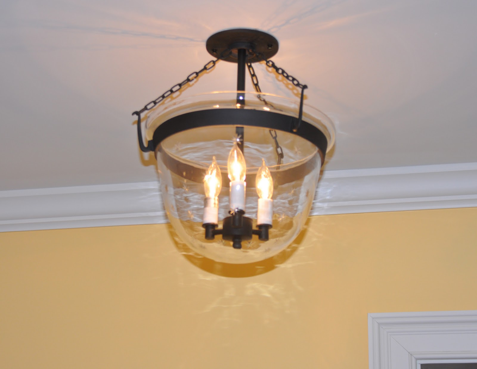 & JVI Designs Country Bell Jar with Stars Customer Install Photos