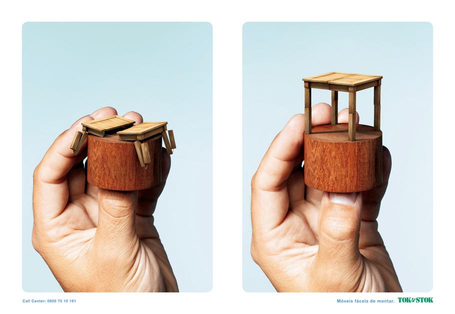 Ad Me: Tok & Stok - móveis fáceis de montar