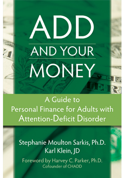 Adults with attention deficit think