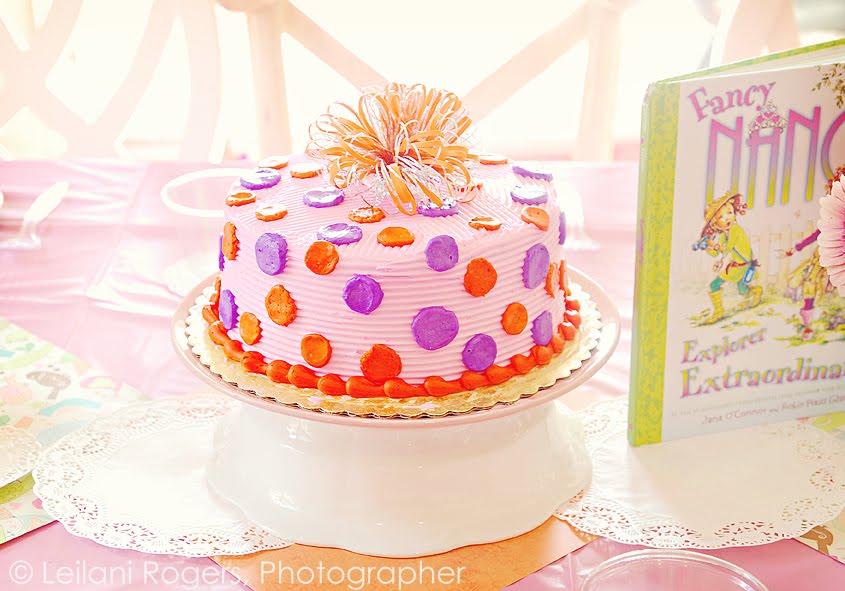 Fancy Nancy Cake Topper