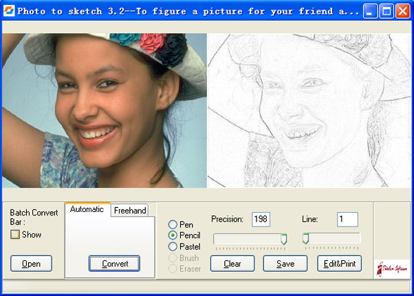 Photo To Sketch, pour transformer une photo en dessin