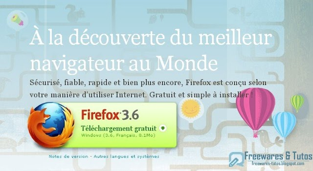 Firefox 3.6 en version finale à télécharger