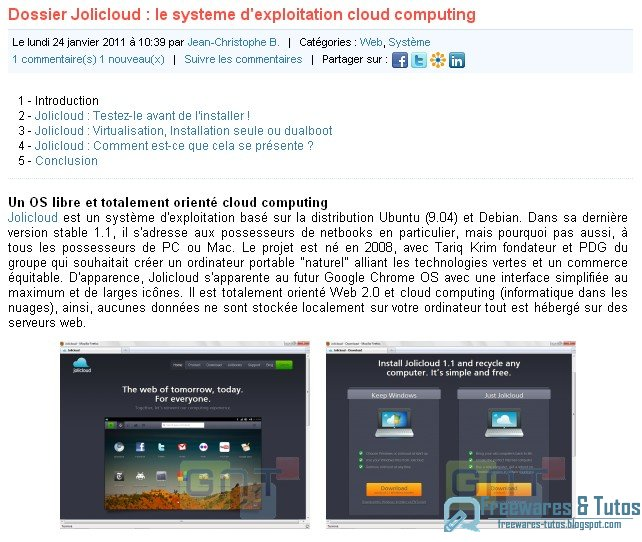 tout sur le cloud computing in pdf