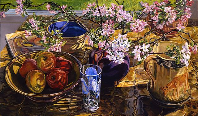 Still Life Painting By Janet Fish American Painter Blog Of An Art Admirer