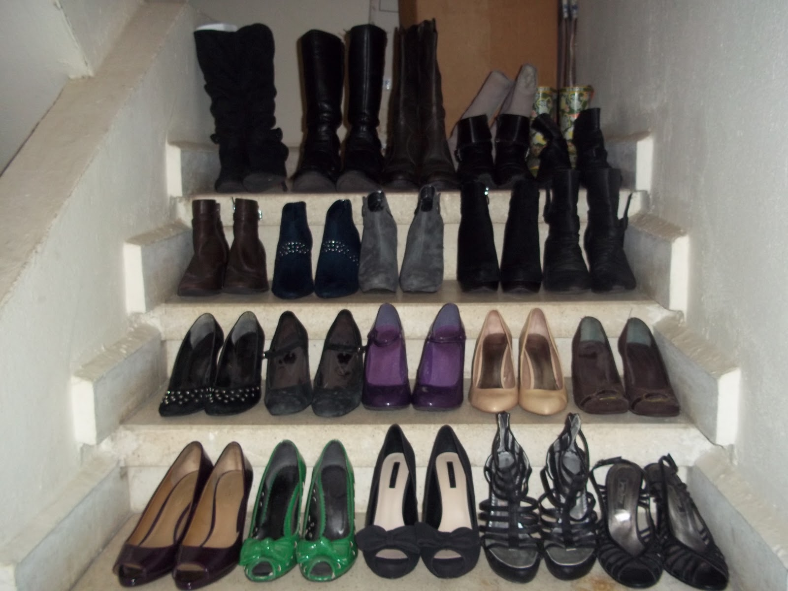 a7c1c192737f Shoe Challenge 2011  My collection - Nouchaline