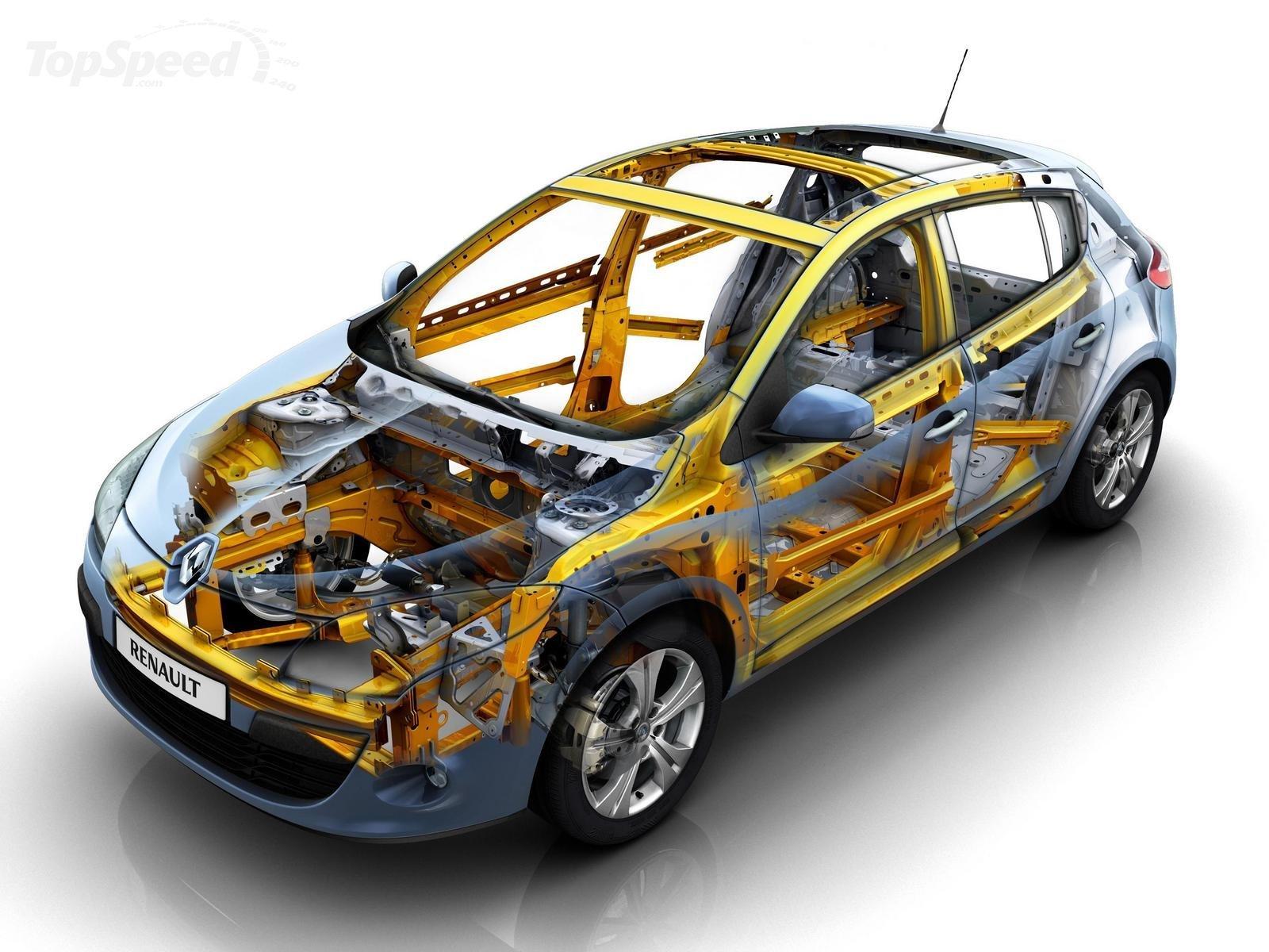 Renault Megane Body Structures Boron Extrication