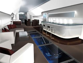 Z I N L O O S 787 Private Jet Bmw Design