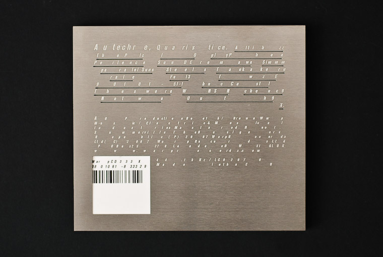 Plastic circles autechre quaristice by the designers for The designers republic