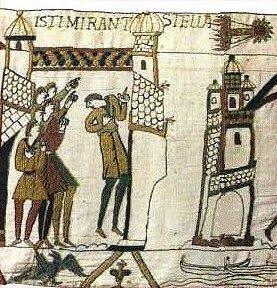 Détails de la Tapisserie de Bayeux, Mathilde de Flandre (1066-1082)