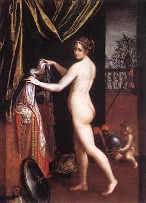 Minerve s'Habillant (1613), Lavinia Fontana