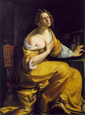Artemisia Gentileschi, La conversation de Madeleine (1615-16)