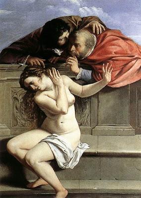 Artemisia Gentileschi, Suzanne et les vieillards (1610)