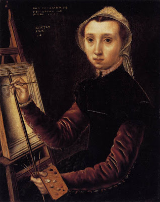 Caterina Van Hemessen, autoportrait (1548)