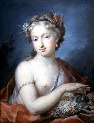 Portrait de jeune fille, Rosalba Carriera