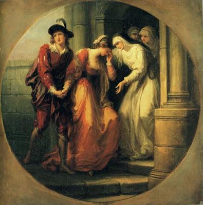 L'adieu d'Abelard et Héloïse (1780), Maria Anna Angelica Kauffmann
