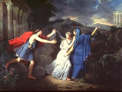 Innocence entre vertue et vice (vers 1791), Marie-Guillemine Benoist
