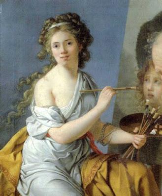 Autoportrait (1790), Marie-Guillemine Benoist
