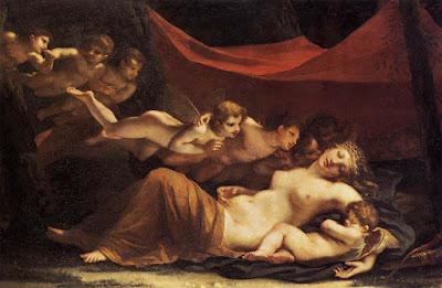 Le sommeil de vénus et de Cupidon (1826), Constance Mayer