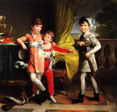 The sons of Marshall Ney, Marie-Eléonore Godefroid