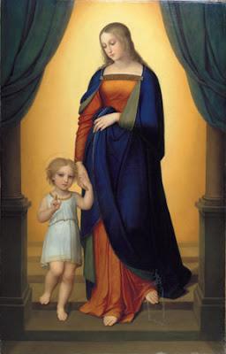 Marie et l'enfant Jésus (1824), Anna Maria Ellenrieder