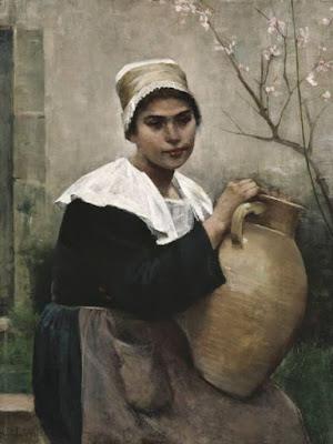 Portrait d'une Bretonne (1884), Amelie Lundahl
