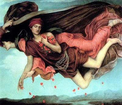 Night and Sleep - Evelyn de Morgan (1878)