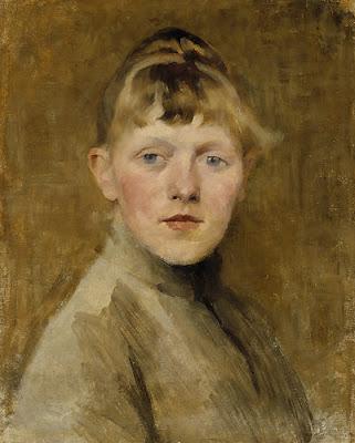 Autoportrait (1884-85), Helene Schjerfbeck