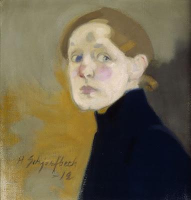 Autoportrait (1912), Helene Schjerfbeck