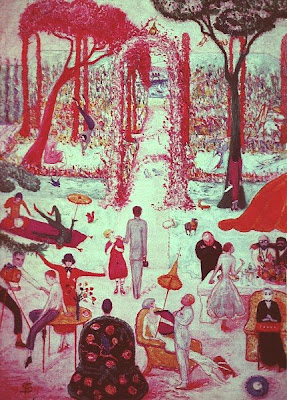 Sunday Afternoon in the Country (1917), Florine Stettheimer