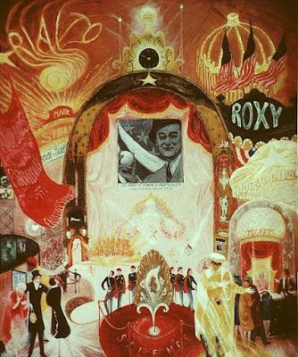 Cathédrales de Brodway (1929), Florine Stettheimer