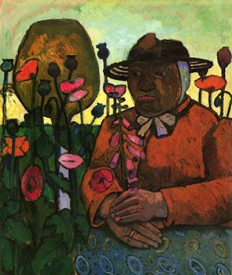 Vieille Domestique au Jardin (1906), Paula Modersohn-Becker