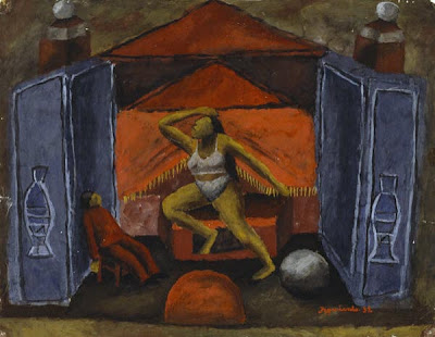 Tightrope Walker (equilibrista) (1932), Maria Izquierdo