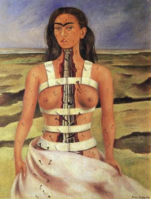 La Colonne Brisée (1944), Frida Kahlo